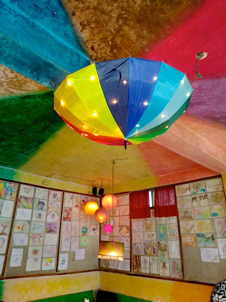 Cafe in Old Manali